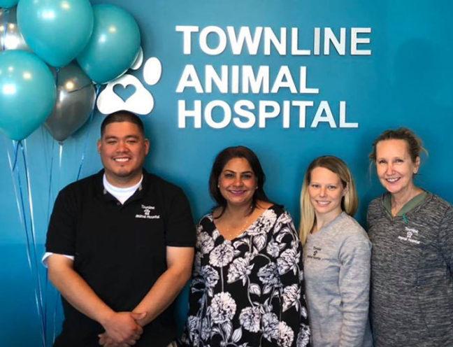 Staff of Townline Animal Hospital