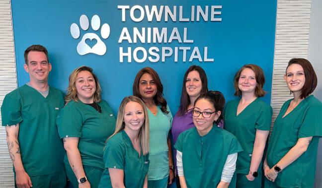 Staff at Townline Animal Hospital